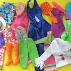 Job Lot Vintage Barbie Clothes and Accessories 80s 90s