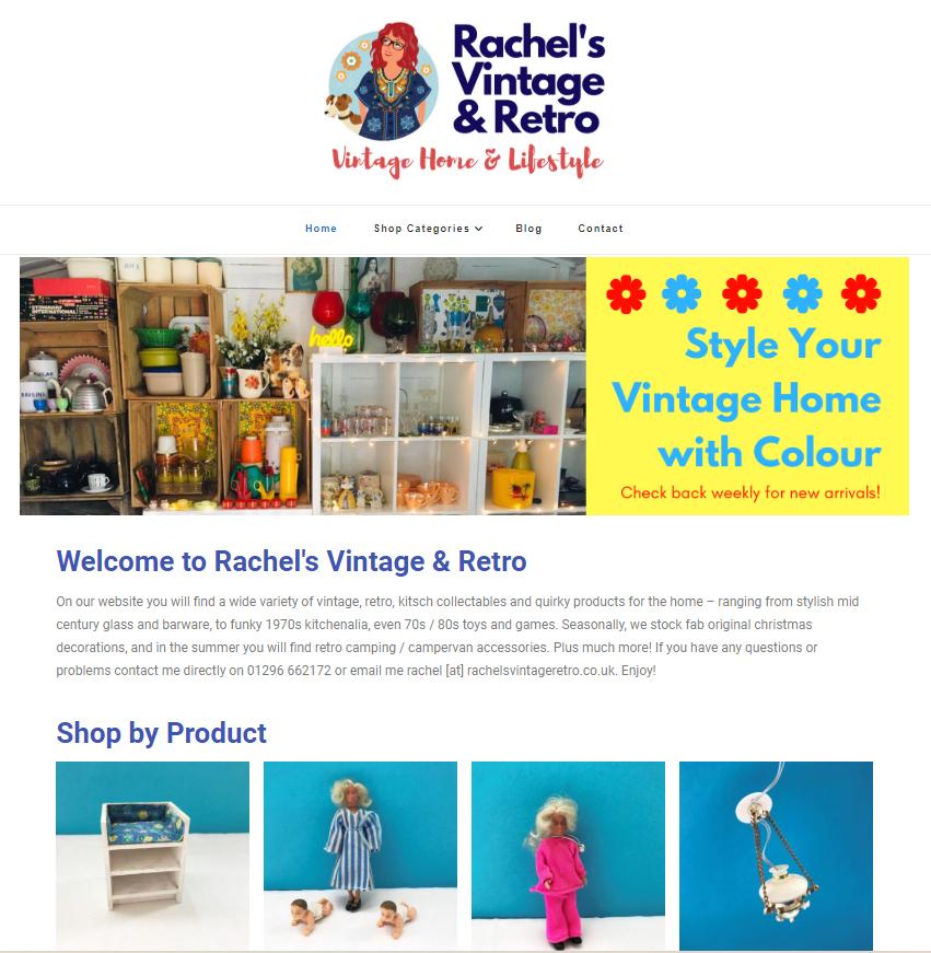 Rachel's Vintage Website