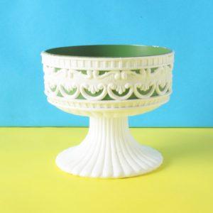 Vintage Dialene Better Maid Plastic Planter Flower Vase 70s