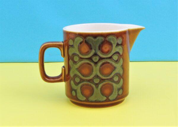 Vintage Retro Hornsea Bronte Milk Jug 1970s Pottery