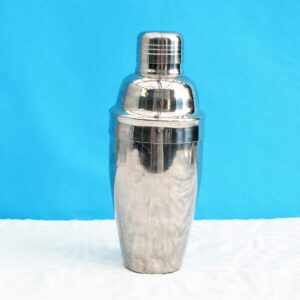 Vintage Boston Cocktail Shaker Stainless Steel Made in Italy