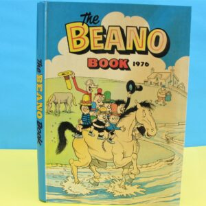 Vintage Retro Annual Beano Book 1976 Published by DC Thomson