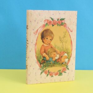 Vintage Retro Kawaii Address Book Padded Cover Taiwan 70s 80s