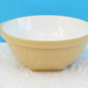 Vintage TG Green Gripstand Mixing Bowl Traditional Stoneware Design