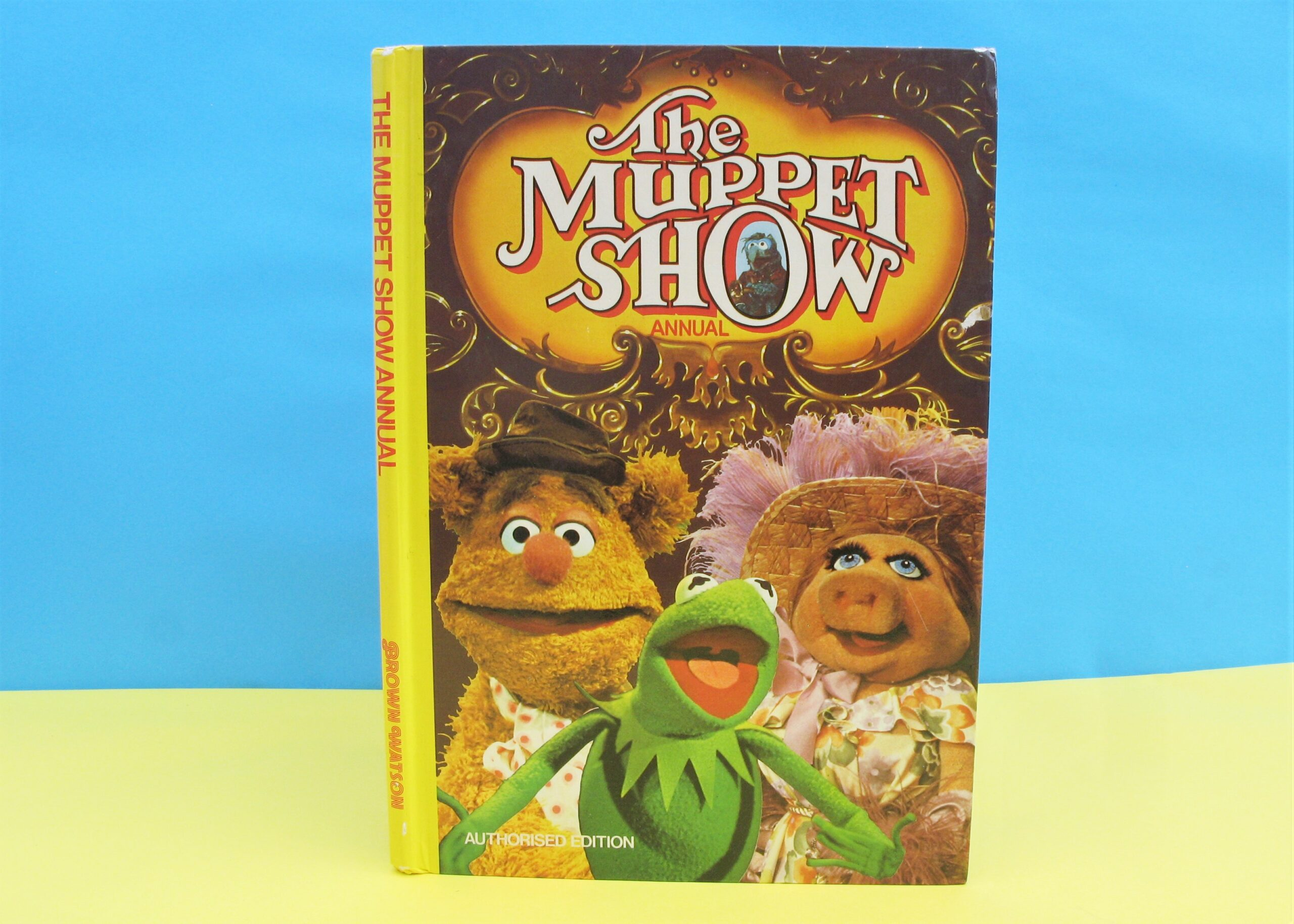Vintage The Muppet Show Annual Jim Henson 1978 Brown Watson