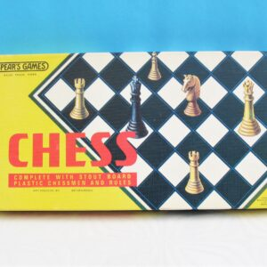 Vintage Chess Board Game Spears Games 1974 Edition Complete