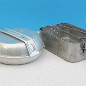 Vintage Mess Tins - Choose from Original Military WW2 or Standard Camping