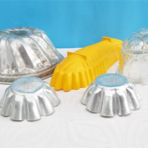 Vintage Moulds for Cake jelly Blancmange etc 4 to choose from
