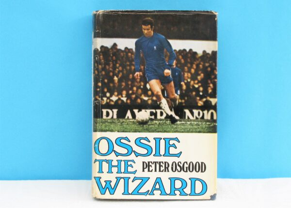 Vintage Ozzie the Wizard Autobiography Peter Osgood Book Signed Copy 1969 Football Memorabilia 60s