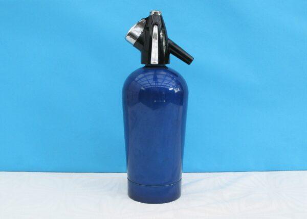 Vintage-Retro-Sparklets-Sode-Syphon-Blue-70s-80s-Home-Bar