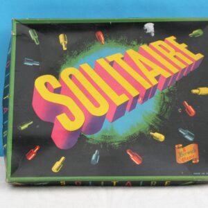 Vintage Solitaire Board Game Berwick Games 50s 60s Mid Century Edition Complete
