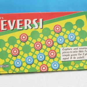 Vintage Spears Reversi Board Game 1973 Edition Complete