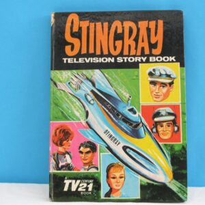 Vintage Stingray Annual Television Story Book 1965 Kids TV 60s