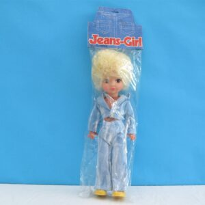 Vintage Kitsch Teenage Doll Jeans Girl Dress Up Hong Kong 70s 80s Toys