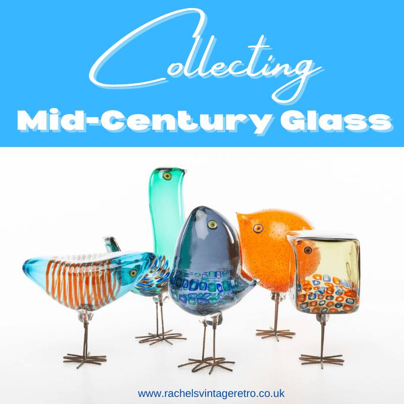 Collecting Mid Century Glass Blog Article Imaghe