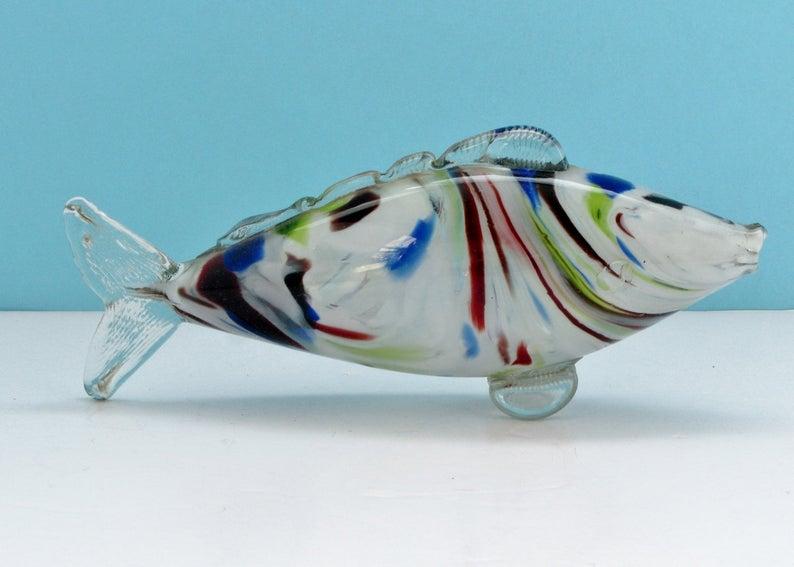 Kitsch Murano Fish Ornament