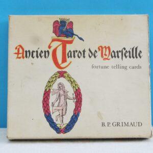 Vintage Ancien Tarot De Marseille Boxed Fortune Telling Set 1960s BP Grimaud
