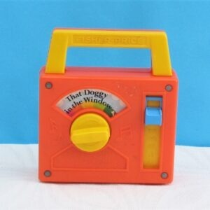 Vintage Fisher Price Musical Radio Toy How Much Doggy Window 70s 80s