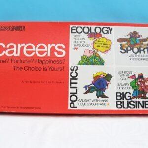 Vintage-Parker-Careers-Board-Game-1971-Complete