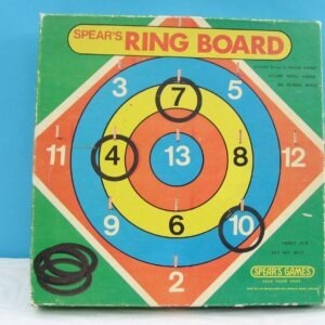 Vintage Spears Hoopla Ring Board Family Party Game 70s