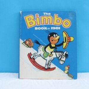 Vintage Retro Bimbo Book Annual 1981
