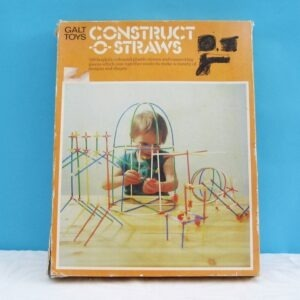 Vintage Galt Toys Construct O Straws Educational Game 70s 80s