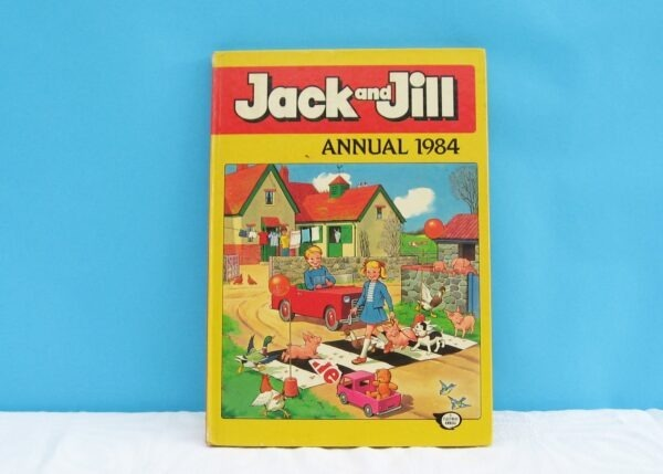 Vintage Jack and Jill Annual Book 1984
