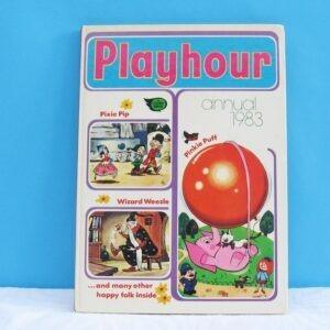 Vintage Playhour Annual Book 1983