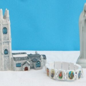 Vintage Religious Collectables Small Ornaments - Choose from Nun, Church, Bracelet