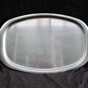 Vintage Stainless Steel Large Serving Tray Platter
