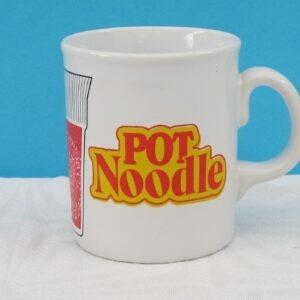 Vintage Rare Pot Noodle Magic Mug Heat Sensitive 70s 80s