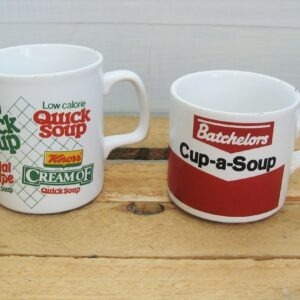 Vintage Soup Mugs - Choose From Batchelors Cup A Soup or Knorr Quick Soup