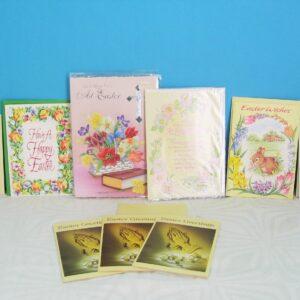 Vintage Easter Cards Unused 70s 80s - Choose From List Below