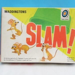 Vintage 70s Waddingtons Slam Game Complete 1974