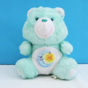 Vintage 80s Care bears Bedtime Bear Plush Toy 6 inch