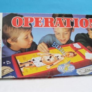 Vintage 90s Operation Board Game