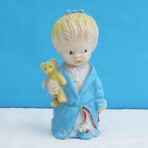 Vintage Baby Rubber Squeaky Toy Little Girl Combex Creations 60s 70s
