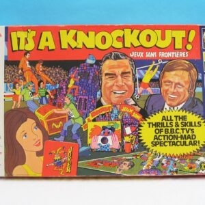 Vintage Its A Knockout Boar Game 70 BBC TV Show Tie In 1974 Strawberry Fayre
