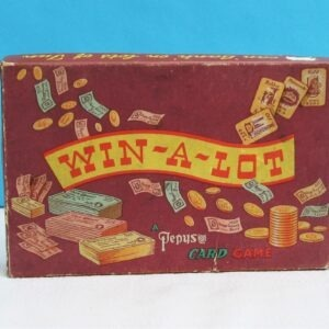 Vintage Rare Pepys Win-a-Lot Card Game Boxed 1950s from Harrods