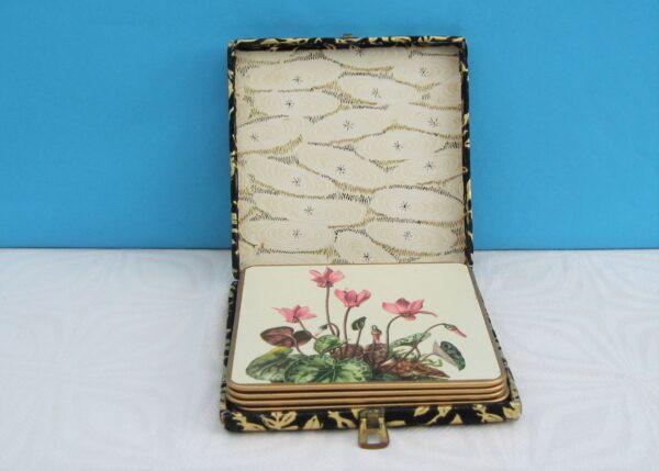 Vintage Win El Ware Tablemats Boxed 50s 60s