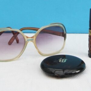 Vintage 70s 80s Vanity Items - Choose From Sunglasses Perfume Atomizer or Compact