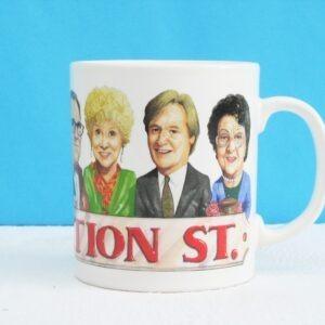 Vintage Coronation Street Mug 1990s Staffordshire Pottery - See photos