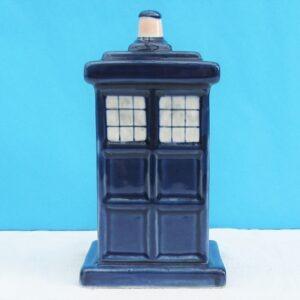 Vintage Doctor Who Tardis Ceramic Money Box 70s 80s