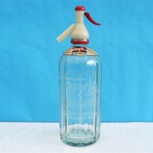 Vintage Glass Soda Syphon Dayla Aylesbury Sealed Type 50s 60s